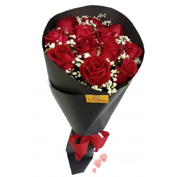 Amor com 12 Rosas