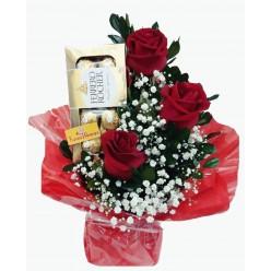 """Arranjo Floral """"Delicado Amor"""""""