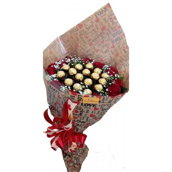Buquê Especial Love Ferrero