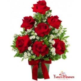 Arranjo Especial 07 Rosas Nacionais Abertas