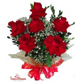 Arranjo De 06 Rosas Importadas