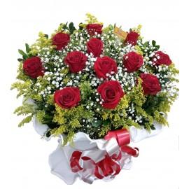 Arranjo 12 Rosas Nacionais