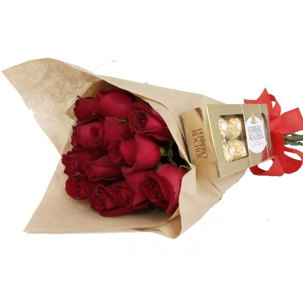 Apanhado de Amor 12 Rosas