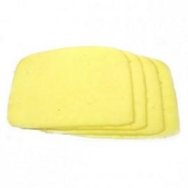 Bandeja com 04 Fatias de queijo mussarela